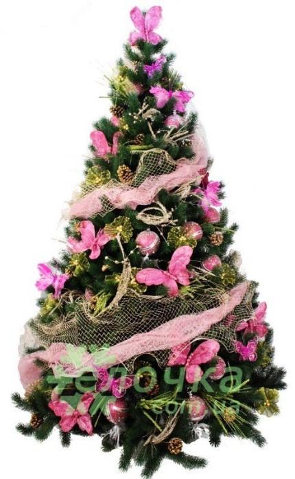 Pink simphony комплект украшений для елки